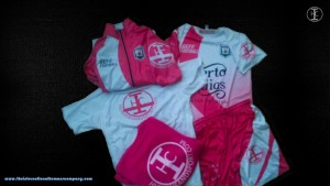 Equipación C.F Racing Parla