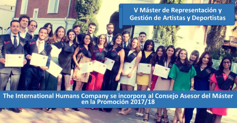 Máster en Representación de Deportistas y Artistas PONS Escuela de Negocio. IMG WEB