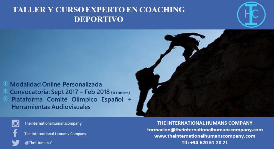 TALLER y CURSO EXPERTO EN COACHING DEPORTIVO v10